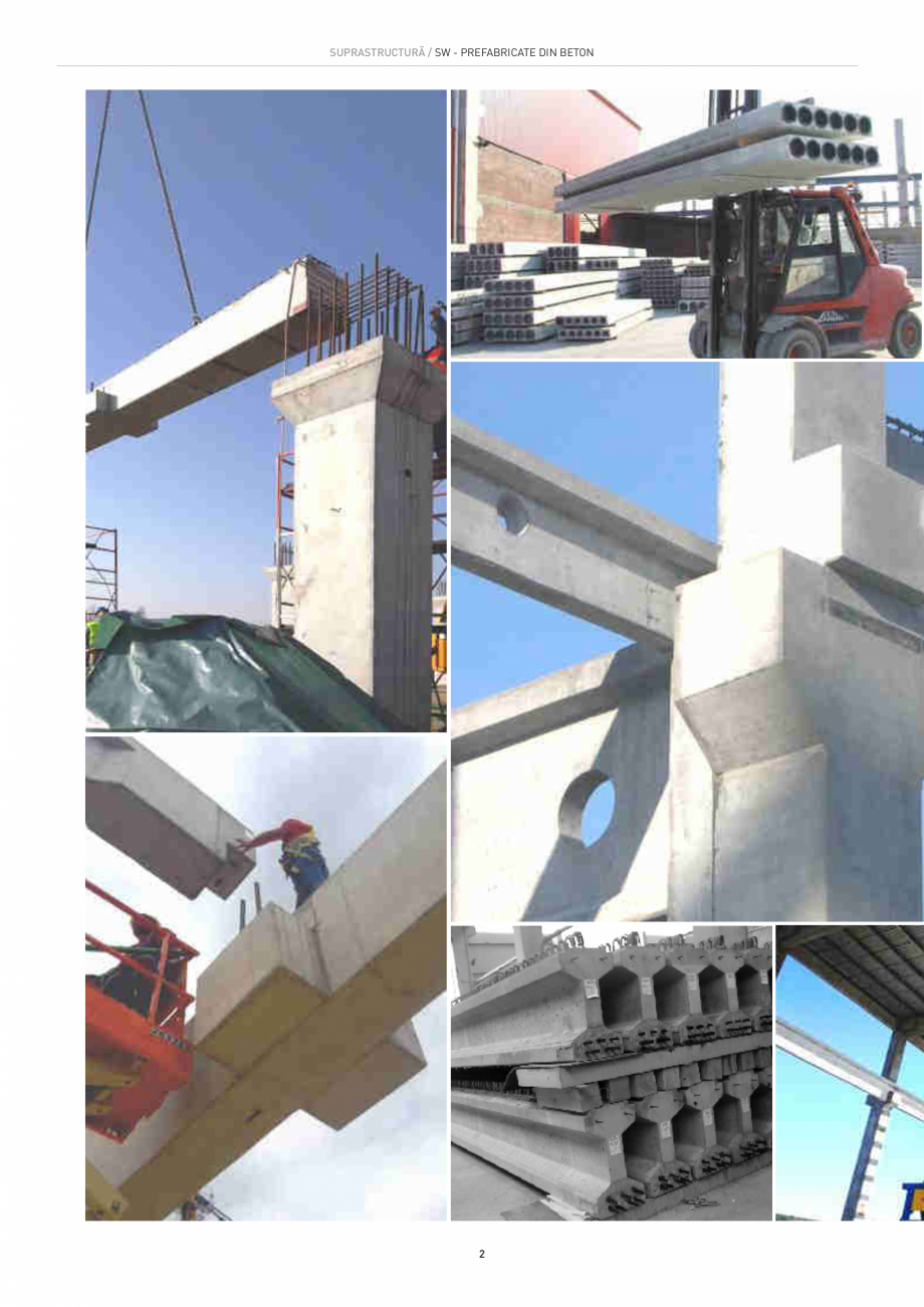 Pagina 2 - Structuri constructii SW UMWELTTECHNIK Gulere, Stalpi, Grinzi principale, Grinzi...