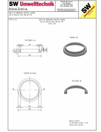 Inel de imbinare pentru camine D104