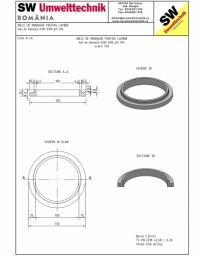 Inel de imbinare pentru camine D130