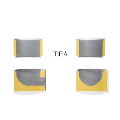 Detalii guri de scurgere - Tip 4 GS Guri de scurgere