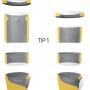 Detalii guri de scurgere -Tip 1