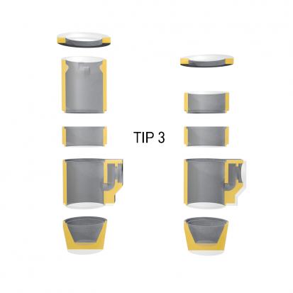 Detalii guri de scurgere - Tip 3 GS Guri de scurgere