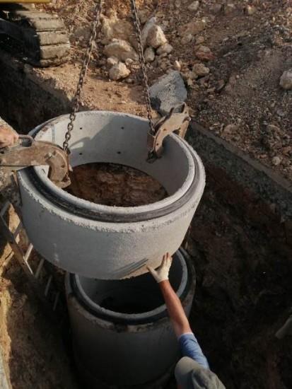 Rețea de apa si canalizare Valu lui Traian - camine de vizitare Camine de inspectie si