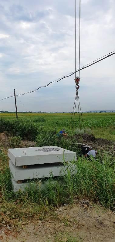 Extindere retea de apa, Grozesti - camin de vizitare Camine de inspectie si vizitare pentru canalizare