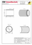 Tub dimensiuni mari TDM DN150 L200 g15 SW UMWELTTECHNIK -