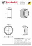 Tub dimensiuni mari TDM DN200 L100 g25 SW UMWELTTECHNIK -