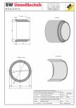 Tub dimensiuni mari TDM DN200 L150 g25 SW UMWELTTECHNIK -