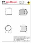 Tub dimensiuni mari TDM DN140 L150 g16 SW UMWELTTECHNIK -