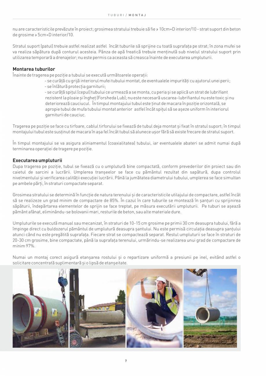 Pagina 7 - Tuburi SW UMWELTTECHNIK Catalog, brosura Romana o solicitare concentrată suplimentară...