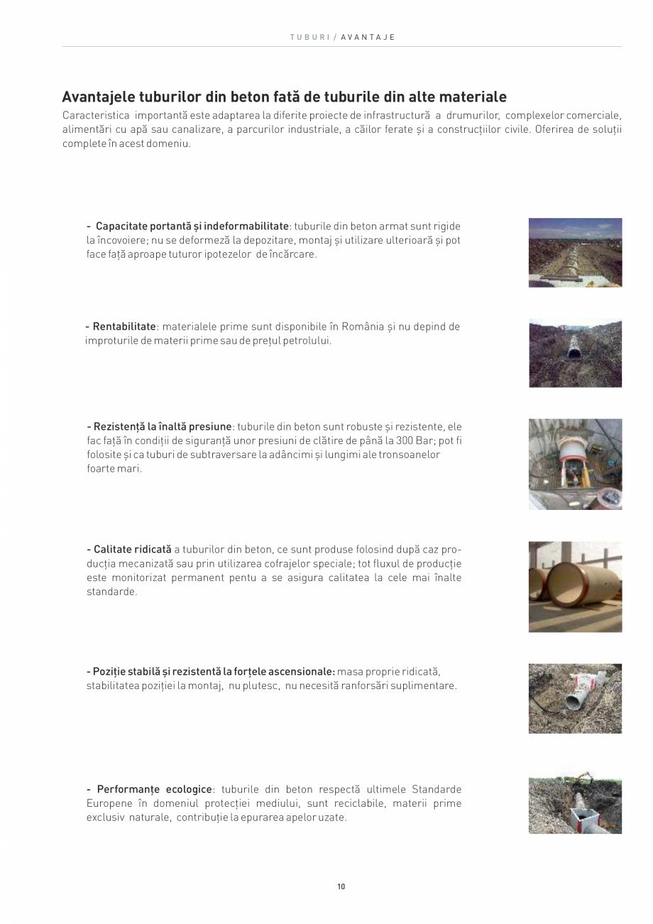 Pagina 10 - Tuburi SW UMWELTTECHNIK Catalog, brosura Romana el. +40 256 296168 CP 707145 Cristești,...