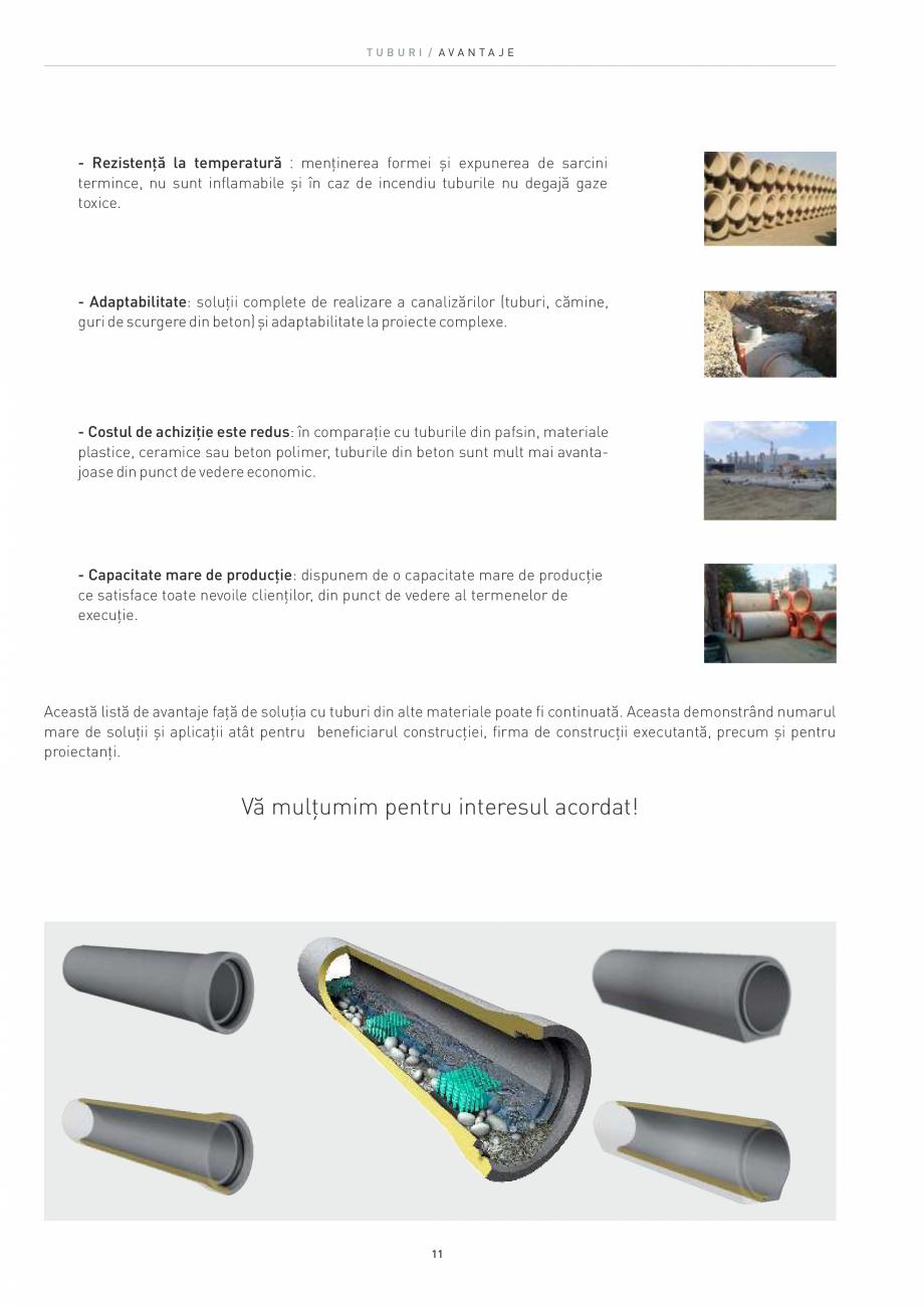 Pagina 11 - Tuburi SW UMWELTTECHNIK Catalog, brosura Romana