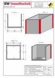 Bazin rectangular BR Di 200/200/200/15 SW UMWELTTECHNIK -