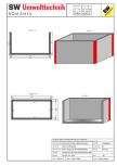 Bazin rectangular BR Di 450/200/250/20 SW UMWELTTECHNIK -