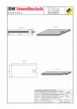 Placa bazin rectangular PBR 490/240/25 SW UMWELTTECHNIK -