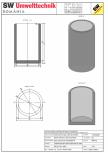 Bazin cilindric BC DN150/250/15 SW UMWELTTECHNIK -