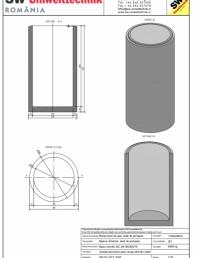 Bazin cilindric BC DN150/300/15