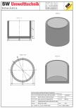 Bazin cilindric BC DN200/150/15 SW UMWELTTECHNIK -