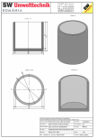 Bazin cilindric BC DN200/200/15 SW UMWELTTECHNIK -