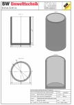 Bazin cilindric BC DN200/300/15 SW UMWELTTECHNIK -