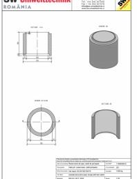 Inel bazin IB DN100/100/15