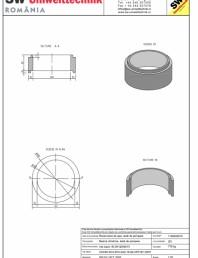 Inel bazin IB DN120/50/15