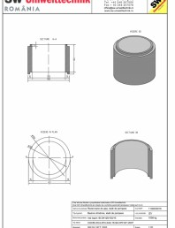 Inel bazin IB DN120/100/15