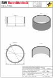 Inel bazin IB DN250/100/15 SW UMWELTTECHNIK -