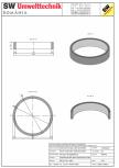 Inel bazin IB DN250/50/15 SW UMWELTTECHNIK -