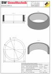 Inel bazin IB DN300/100/25 SW UMWELTTECHNIK -