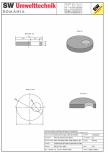 Placa carosabila bazin PCB D180/25 SW UMWELTTECHNIK - PCB-PNB