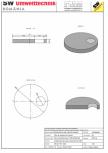 Placa carosabila bazin PCB D230/25 SW UMWELTTECHNIK - PCB-PNB