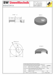 Placa necarosabila bazin PNB D150/20 SW UMWELTTECHNIK - PCB-PNB