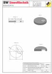 Placa necarosabila bazin PNB D180/20 SW UMWELTTECHNIK - PCB-PNB