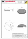 Placa necarosabila bazin PNB D230/20 SW UMWELTTECHNIK - PCB-PNB