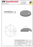 Placa necarosabila bazin PNB D280/20 SW UMWELTTECHNIK - PCB-PNB