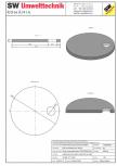 Placa necarosabila bazin PNB D350/20 SW UMWELTTECHNIK - PCB-PNB