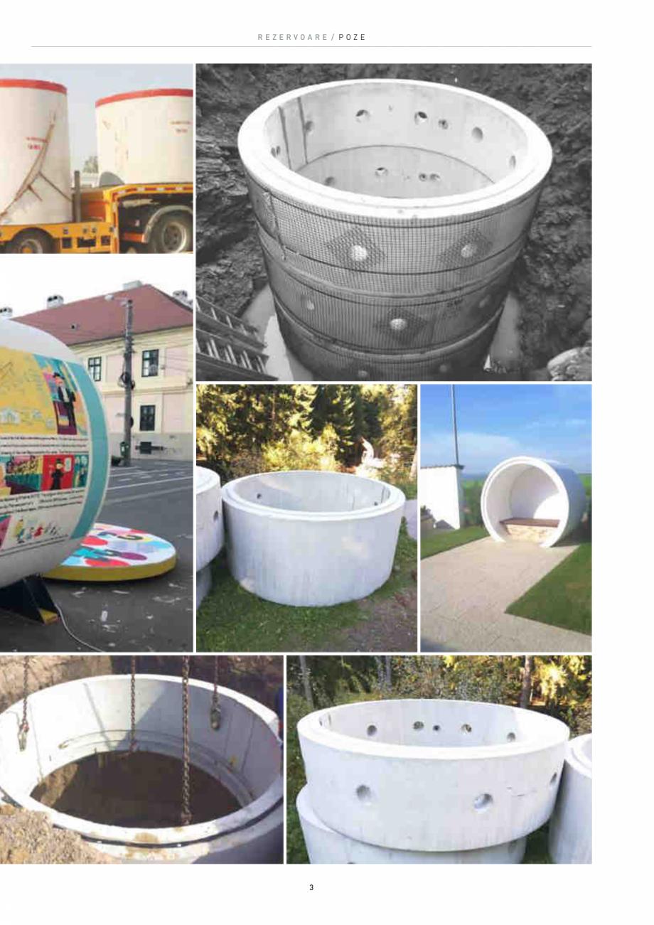 Pagina 3 - Rezervoare din beton SW UMWELTTECHNIK Catalog, brosura Romana funcție de diametrul...