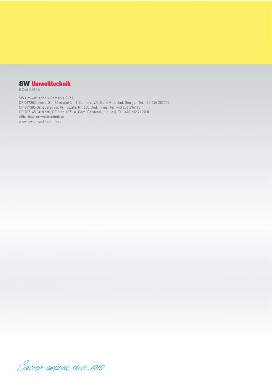 Pagina 10 - Rezervoare din beton SW UMWELTTECHNIK Catalog, brosura Romana