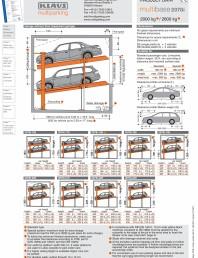 Sistem de parcare hidraulic
