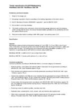 Sisteme de parcare hidraulice - Specificatii tehnice KLAUS
