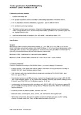 Sistem de parcare subteran - Specificatii tehnice KLAUS