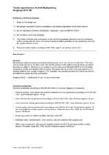 Sistem de parcare - Specificatii tehnice KLAUS
