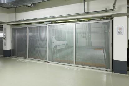 Sisteme de parcare semi-automate / Sisteme de parcare semi-automate