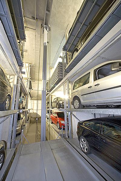 Sisteme de parcare complet automate / Sisteme de parcare complet automate