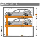 MultiBase 2072i 165 - Sistem de parcare hidraulic - MultiBase 2072i