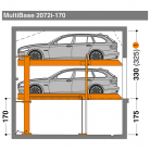 MultiBase 2072i 170 - Sistem de parcare hidraulic - MultiBase 2072i