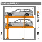 MultiBase 2072i 185 - Sistem de parcare hidraulic - MultiBase 2072i