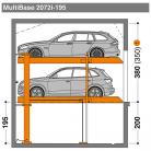 MultiBase 2072i 195 - Sistem de parcare hidraulic - MultiBase 2072i