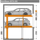 MultiBase 2072i 205 - Sistem de parcare hidraulic - MultiBase 2072i