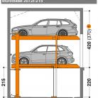 MultiBase 2072i 215 - Sistem de parcare hidraulic - MultiBase 2072i